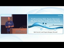 Overview of forthcoming SQL-Azure Services, SQL Azure Data Sync and SQL Azure Reporting