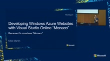 "VISUAL STUDIO ONLINE ""MONACO"": BECAUSE IT'S MUNDANE MONACO!"