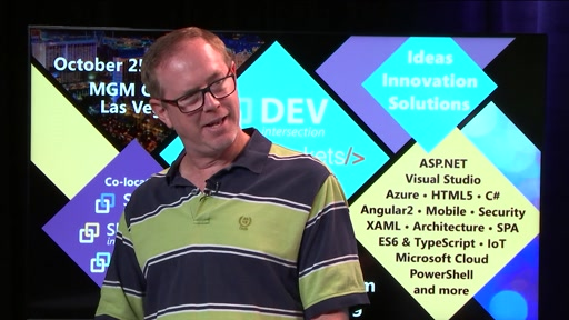Scott Hunter talks ASP.NET Core at DEV intersection Fall Count Down Show #3 (Teaser)