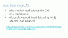 Best Practice Series: Exchange Server 2013: (03) High Availability and Site Resilience