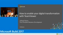 How business can enable their digital transformation with TeamViewer