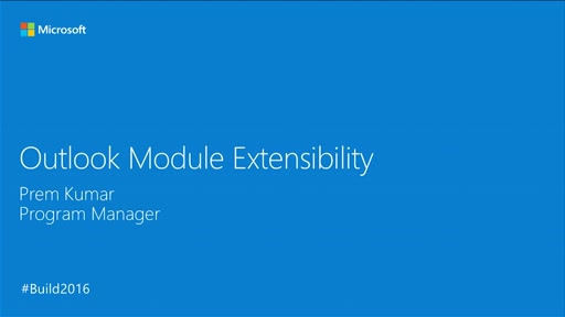 Building Immersive Add-in Experiences Through Outlook Module Extensibility