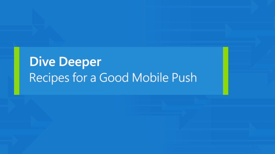Azure Notification Hubs: Recipes for good mobile push
