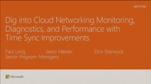 Dig into cloud networking performance, monitoring, and diagnostics
