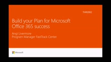 Plan for Microsoft Office 365 success