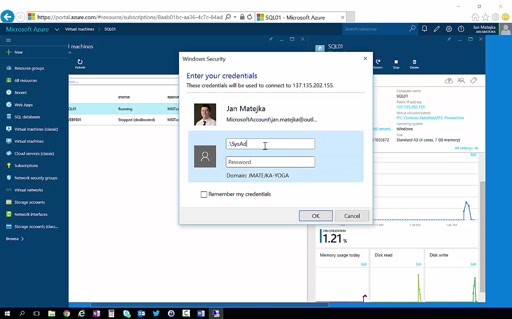 ITcamp2015 (Azure) - 7 Explore VM and Remote Access