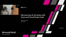 Microservices and Serverless with Azure and Visual Studio Code