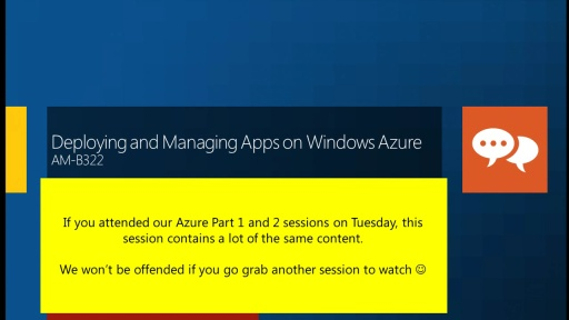 Deploying and Managing Applications on Windows Azure