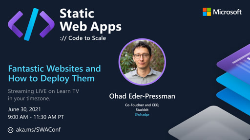 Fantastic Websites and How to Build Them with Ohad Eder-Pressman