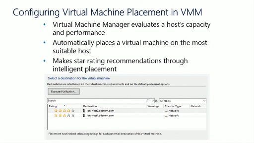 Server Virtualization with Windows Server Hyper-V and System Center: (10) Configuring and Managing the System Center 2012 R2 Virtual Machine