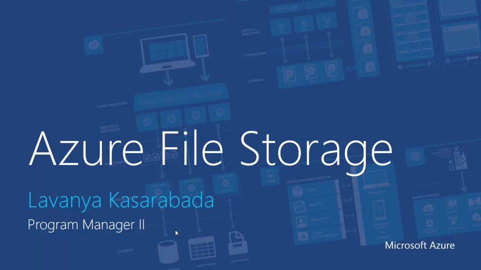 Azure File Storage with Windows