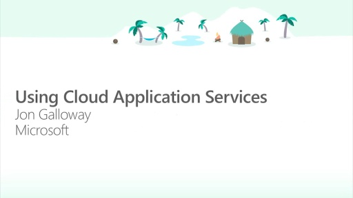 Using Cloud Application Services