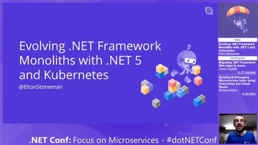 Evolving .NET Framework Monoliths with .NET 5 and Kubernetes