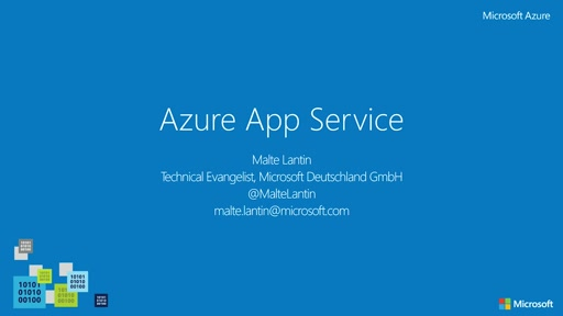Azure App Service – Modulares Backend in der Cloud