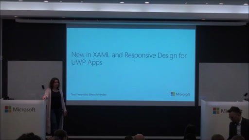 Windows 10 - Nyheter i Xaml och Responsiv design