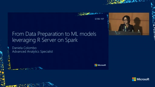 From data preparation to a Machine Learning model leveraging R Server on Spark: a real-case