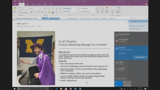 Work better together as a team and stay on the same page with Microsoft OneNote