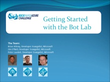 Rock Paper Azure Challenge - Part 2 (of 5) - Getting Started With The Bot Lab