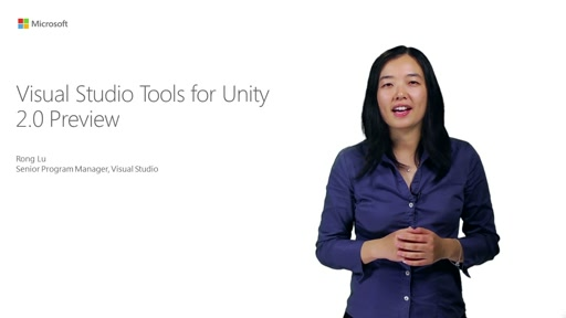 Visual Studio Tools For Unity 2.0 Preview
