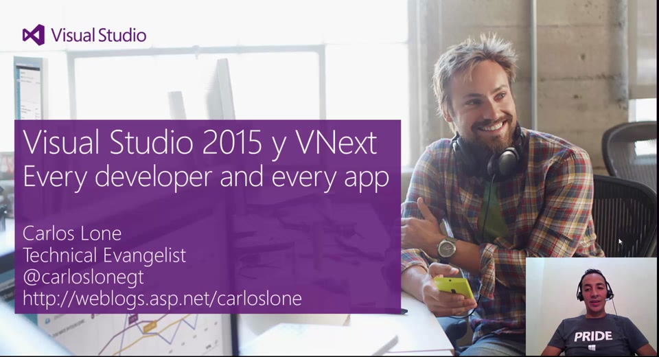 Build Latam: Visual Studio 2015 y vNext