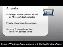 Microsoft Private Cloud Security Overview