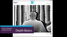 Kinect For Windows Depth Basics Video