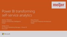 Transform your organization through self-service analytics – a Power BI customer story