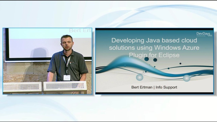 Developing Java based cloud solutions using Windows Azure Plugin for Eclipse