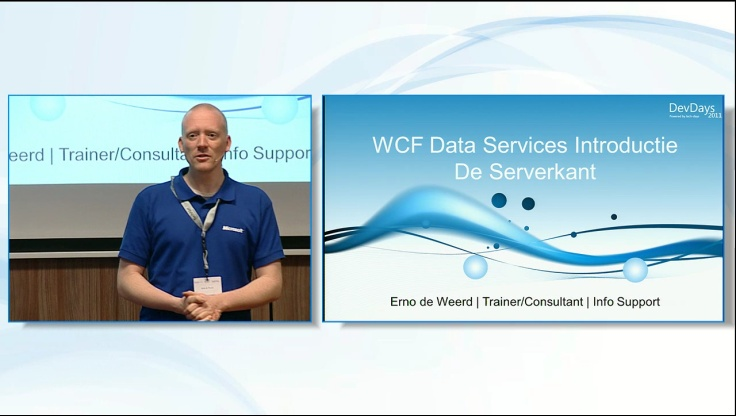 WCF Data Services Introductie - De Serverkant