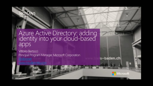 Azure Active Directory: adding identity into your cloud-based apps (en)