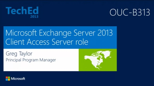 Microsoft Exchange Server 2013 Client Access Server Role