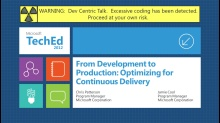 From Development to Production: Optimizing for Continuous Delivery