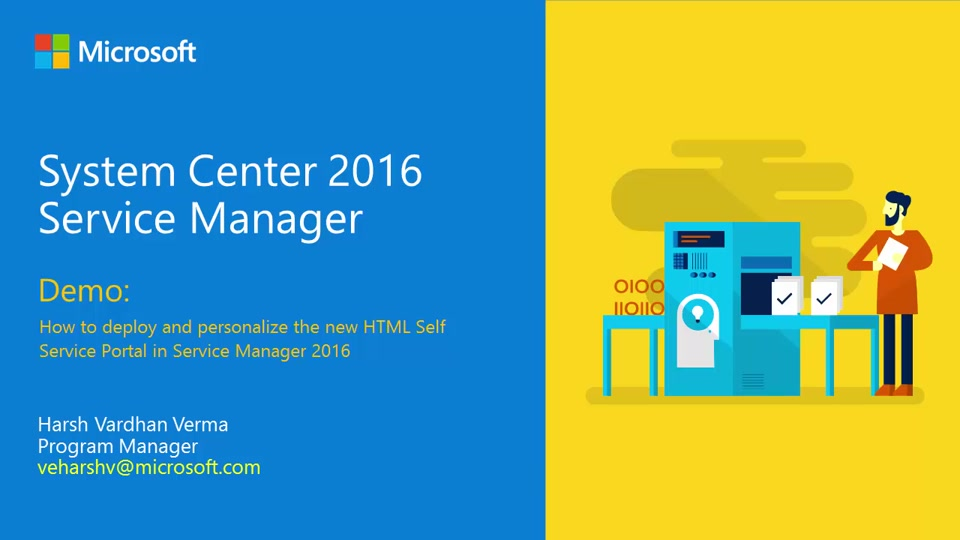 Demo Deploy And Personalize The New Self Service Portal