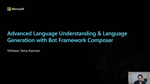 Advanced Language Understanding & Language Generation with Bot Framework Composer