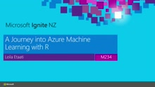 A journey into Azure Machine Learning with R