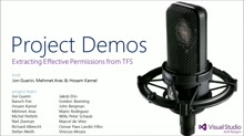 Project Demo - Extracting Effective Permissions from TFS