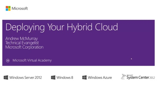 (Module 4) Deploying your Hybrid Cloud
