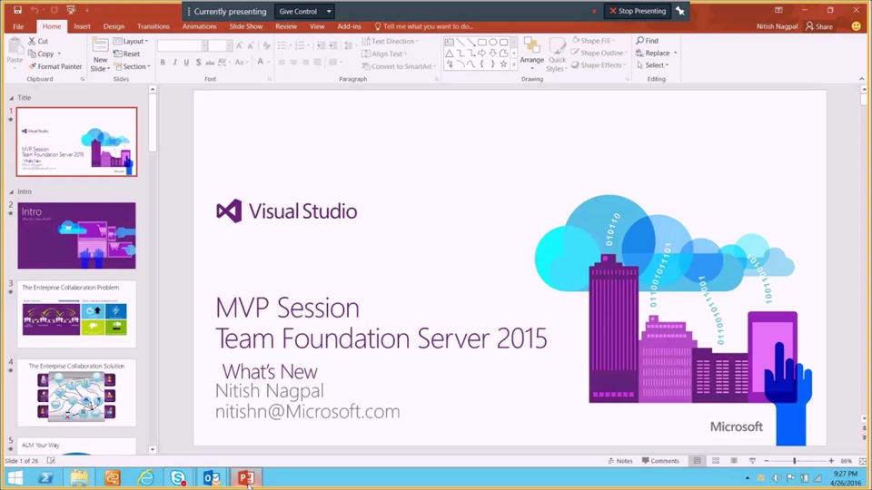 Git Support Added to Visual Studio and TFS | Channel 9