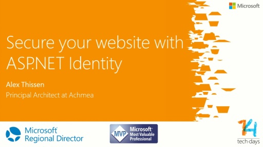 Securing your website with ASP.NET Identity
