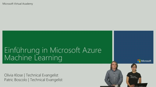 02 | Modell in Azure Machine Learning bauen - Video 1