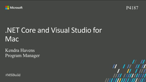 .NET Core and Visual Studio for Mac