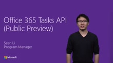 Office 365 Tasks API (Public Preview)