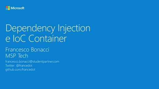 Modulo 12 || Dependency Injection e IoC Container