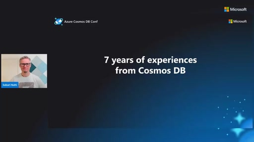 Experiences from 7 years of Cosmos DB
