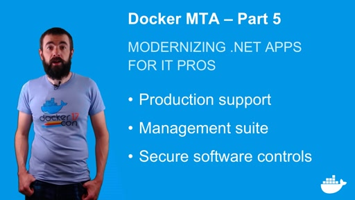 Modernizing .NET Apps with Docker, for IT Pros. Part 5.