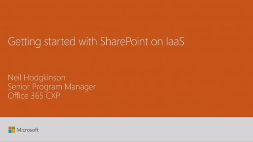 Get started with SharePoint Server 2016 in Microsoft Azure IaaS