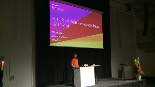 SharePoint 2016 – en introduktion för IT-Pros