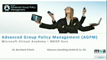03 | Advanced Group Policy Management (AGPM)