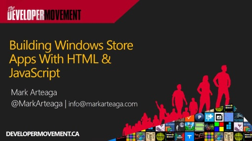 Building Windows 8 Apps with HTML & JavaScript