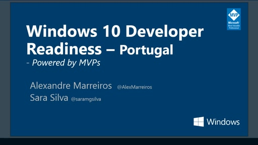 Windows 10 Developer Readiness [Portugal]